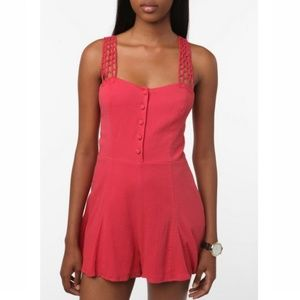 UO Urban Outfitters Peter Jensen Romper - M